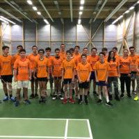 Nouvelle tenue pour nos jeunes école badminton